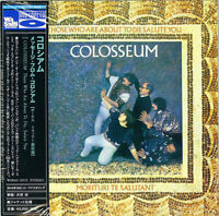 COLOSSEUM-THOSE WHO ARE ABOUT TO DIE. SALUTE YOU-JAPAN MINI LP BLU-SPEC CD2 G88