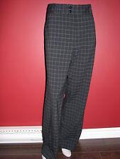 CATHERINE STEWART Women's Black/Blue Dress Pant - Size 14 - NWT $90
