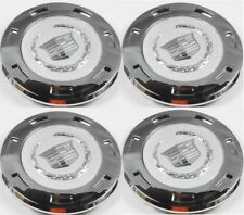 "07-14 CADILLAC ESCALADE CHROME 22"" 7 SPOKE WHEEL CENTER CAPS W/ RING --NEW--"