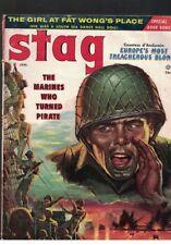 Stag Magazine Jan 1957 Vol 8 No 1 Marines Who Turned Pirate Stalin's Treasure