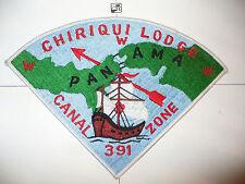 OA Chiriqui Lodge 391,P-2,1977, Toughest Pie Patch,FDL Sail,Panama Canal Zone,CZ