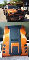 ORANGE FLQ HOOD SCOOP BONNET FORD RANGER T6 WILDTRAK MK2 PX2 XLT XL 15 2016 2017