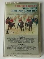 COLONEL BOGEY THE GREAT MILITARY MARCHES Cassette Tape