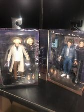 NECA Back To The Future 35th Ultimate Marty Mcfly Audition & Doc Brown