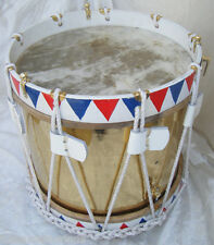 "French Army Drum Military Heritage Drum Napoleonic Era Drum 14"" inch BRAND NEW"