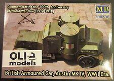 1/72 WWI British Armoured Car Austin Mk.IV - Master Box 72008
