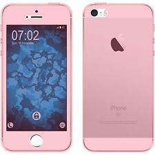 Coque en Silicone Apple iPhone 5 / 5s / SE - 360° Fullbody rose Case