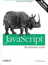 Definitive Guides: Javascript by David Flanagan (2001, Paperback)