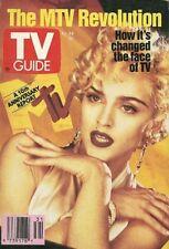August 3-9, 1991 TV Guide Magazine - Madonna, MTV Turns 10, Julia Louis-Dreyfus