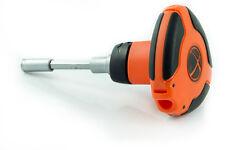 TACTIX 8pc Ratcheting Palm Screwdriver & Bit Set T-Handle Phillips, Common, Slot