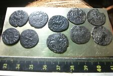 MEDIEVAL CILICIAN ARMENIA  Templars silver and bronze HORSE lion cross lot