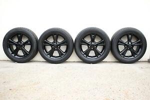 "GENUINE LEXUS RX400H 18"" ALLOY WHEELS - 5 SPOKE - BLACK - RX330 RX350 2004-2009"
