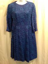 Vintage 1950s  JEAN LANG ORIGINAL Lace Woman's Dress