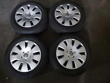 Audi A4 Stahlfelgen 7x16 ET39 5x112 8K0601027A Winterreifen 205 60 R16 95H GKW63