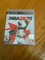 NBA 2K18 (Sony PlayStation 3, 2017) COMPLETE BASKETBALL SPORTS PS3 FAST SHIPPING