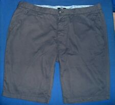 George man's grey short cotton trousers size 42W