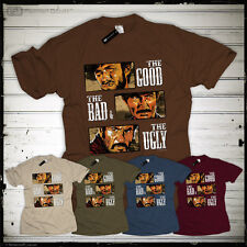 Good Bad Ugly T-Shirt Clint Eastwood Spaghetti Western Fan glorreiche Halunken