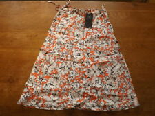 Marks and Spencer Linen Floral Regular Size Skirts for Women
