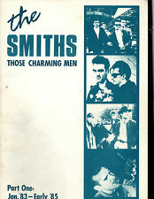 The Smiths Those Charming Men Part One: Jan '83-Early '85 Book Morrissey Rare