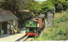 Dolgoch Falls on the Talyllyn Railway - Gwynedd Postcard   (BBB)