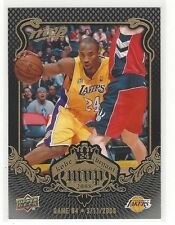2008-09 UPPER DECK NBA MVP BASKETBALL KOBE MVP KOBE BRYANT #KB-64 - LA LAKERS