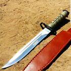 "13.75"" Green Digital camo Bayonet Hunting Knife with Sheath"