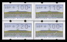 BRD Bund ATM 2.1.1 VS2 postfrisch **/gestem. 100/110/220/300 Pfennig DBP normal