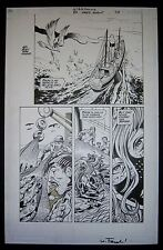 Org. Art NIGHTWING 80 PAGE GIANT, pg.70, Michael COLLINS, Wayne FAUCHER signed
