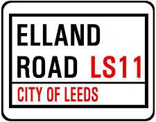 LEEDS UNITED F.C. STREET SIGN ON MOUSE MAT / PAD. ELLAND ROAD