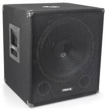 Vonyx SMWBA15 - Subwoofer bi-amplifié 15'', 600 W, mixage intégré