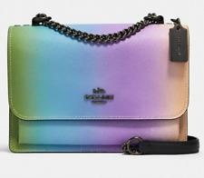 Coach Klare Crossbody Bag Rainbow Ombre Gunmetal HANDBAG NWT Sold Out Style NEW