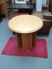 Solid Wood Vintage/Retro Round Side & End Tables