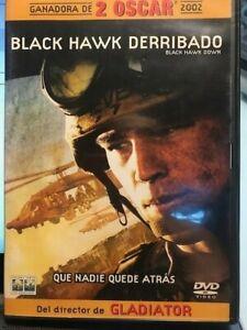 BLACK HAWK DERRIBADO DOWN RIDLEY SCOTT 2 X DVD EDICION ESPECIAL ESPAÑOL  ING AM