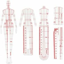 French Fashion Template Humanoid Clothing Measuring Pattern Grading Sewing Tools