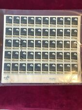 US Stamp Sheet Sc #1371. Apollo 8 Space Mission Rocket & Space