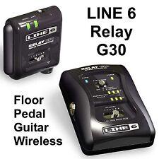 LINE 6 RELAY G30 Floor Pedal Guitar Digital Wireless System