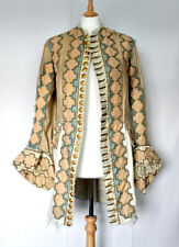 19th C. FANCY DRESS / THEATRICAL COSTUME of Early 18th C. Justacorps/Frock Coat