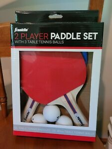 Franklin 2 Player Paddle Set with 3 Table Tennis Balls .... JH722