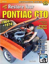 How to Restore Your Pontiac GTO 64-74 WORKSHOP SERVICE REPAIR MANUAL RESTORATION