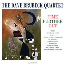 Dave Brubeck Quartet TIME FURTHER OUT 180g NEW SEALED Green Colored Vinyl LP