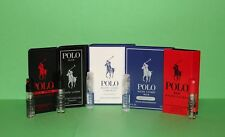 Men's Cologne Samples: Ralph Lauren Polo Extreme, Black, Ultra Blue, Blue & Red
