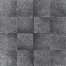 Mosaic Gray Vinyl Floor Tile 20 Pcs Adhesive Flooring - Actual 12'' x 12''