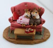Wee Forest Folk Miniature Figurine M-665 - Sweet Snuggle