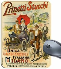 Vintage Prinetti Stucchi Bicycle Mouse Mat. Bike Advertising Poster Mouse Pa