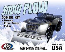 "Polaris 445 Diesel - 1999   KFI ATV 48"" Snow Plow Combo Kit"
