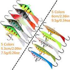 10Pcs Winter Fishing Lure Ice Fishing Jig Bait Pesca Carp Fishing Bass Wobbler