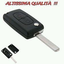 Cover Guscio Chiave Peugeot 407 408 307 308 107 207 Telecomando Due 2 Tasti Key+