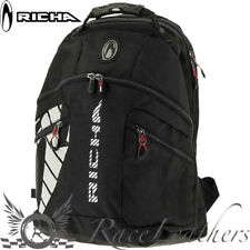 Richa Black Pitstop - 40 Litre Motorcycle Backpack