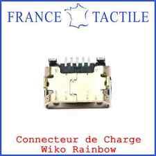 Connecteur de charge Micro USB WIKO RAINBOW NOIR 3G et 4G - Neuf et Original