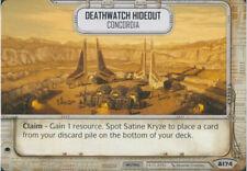 Star Wars Destiny Convergence ~ Deathwatch Hideout #174 Uncommon